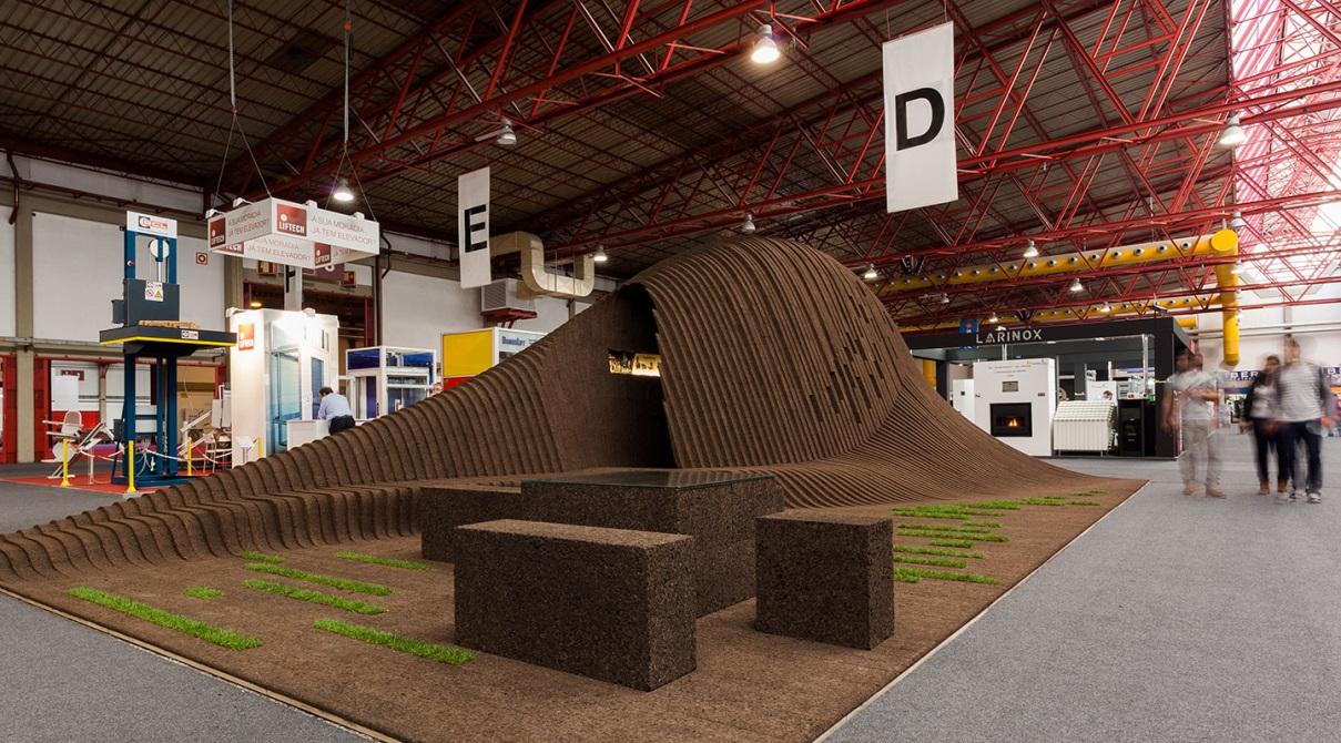 Exhibition Stand Architecture : School of architecture of the university of oporto faup legno